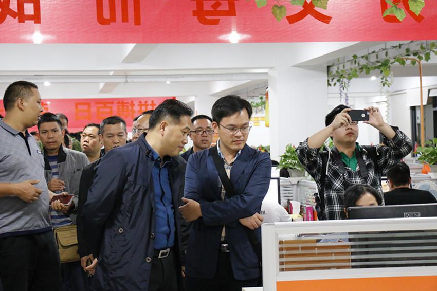 黔东南州副秘书长姜永柱携州各市县领导莅临四喜考察交流